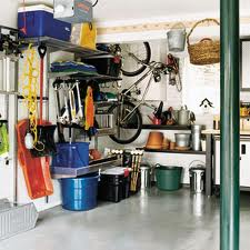 Sample of an organized garage