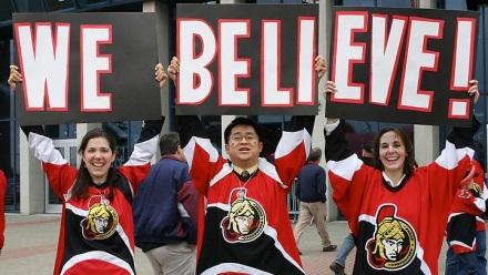 Ottawa Senators Proud