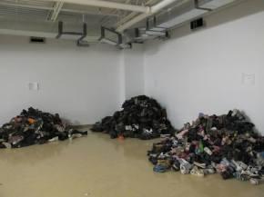 Ottawa Shoe Donations Piling Up
